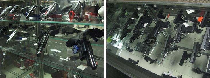 Mandeville Hand Guns